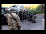 Russian Soldiers Training Volunteer Militants In Eastern Ukraine Earlier This Year