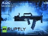 Russia: Unique Underwater Assault Rifle Unveiled In Moscow
