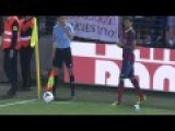 Racist Fan Throws Banana To Dani Alves He Picks It Up And Eats It
