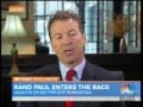 Rand Paul Goes Off On Savannah Guthrie For Saying He's 'Changed His Positions'