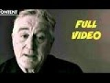 Robert De Niro Has A MESSAGE For Donald Trump. LiveLeak Poll