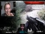Real Life First Person Shooter Chatroulette Version
