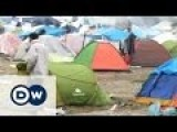 Refugees In Greek Border Town Holding Out
