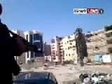 Riding A Pickup In Aleppo