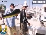 ROFL, Fisherman Posing With Catch Has Fish Stolen By A Seal...lolol