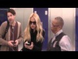 Rachel Zoe Departs From LAX For Las Vegas With Her Husband