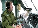 Royal Canadian Navy DRDC Flight Deck Motion System CH-124 Sea King Helicopter