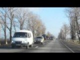 Russia Convoy From Rostov Near Taganrog Poss On Way To Novoazovsk Ukraine