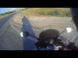 Road Rage Between Biker And Car Pasenger