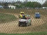 Race Marshal Narrowly Avoids Getting Killed.. Surrey, UK