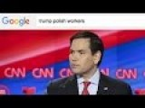 Rubio Asked Everyone To Google 'Trump Polish Workers