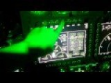 Russian Ka-52 Helicopter Cockpit Night Flight 2015