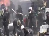 Riot Police Move Against Kiev Protest Camp