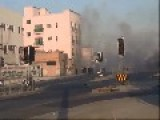 Riot Police Hit Protesters With Tear Gas In Bahrain