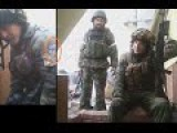 Russian Soldiers At Donetsk Airport. Is This A Rostov Related Flag!!
