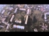 Russians Fly Drone Over Entirely Destroyed Pisky