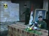 Rare Footage: Air Raids During The Iraqi Defense Minister Speech, 2003 Iraq Invasion