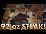 Randy Santel Slams A 92 Oz Steak Plus Sides