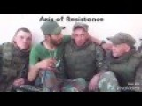 Russian Soldiers With Hezbollah In Syria