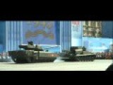 Russian Super-tank 'stalls' On Rehearsal Parade In Moscow