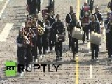 Russia: World's Military Bands Dance Shaolin And Gangnam Style
