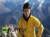 Russia: Watch This Base Jumper FLY Off A 3,200 Metre High Mountain