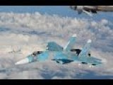 Russian Su-27 Intercepts Portuguese Air Force Lockheed P-3 Orion Spy Plane