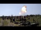 Russian Invaders' Heavy Soviet Mortar Training