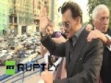 Russia: Moscow's Women Wooed By Johnny Depp