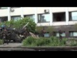Rarely Seen Video Of The Moment The Kiev Nazis Laid Siege To The Administrative Building In Mariupol On May 9th, 2014