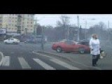 Russian Car Thief Caught After Crashing