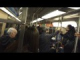 RAT On The New York Subway!