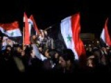 Real Syrians In Damascus At A Rally, March 2011. Before The Destruction And Death