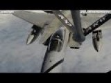 RARE SHOTS From BACK Of KC-135 PERFECT Refueling F-15C - CODE 1079