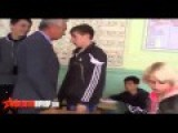 Russian Kid Assaults Teacher