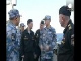 Russian And Chinese Warships Working Together In Mediterranean