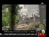 RPG29 Hashem, Destroys A Zionistic Merkavah Tank At The Boarder Eastern Khan Younis
