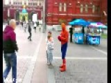 Real Spiderman Vs Fake Spiderman