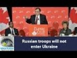 Russian Army Will Not Enter Ukraine Georgiy Mamedov, Russian Ambassador To Canada