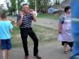 Russian Funky Chicken Dance