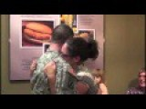 Restaurant Surprise From Military Husband