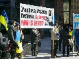 Rally Held At Ukrainian Consulate In Toronto