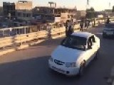 Review ISIL Column Main Street In Fallujah
