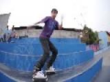 Rollerblader Body Slams Cement