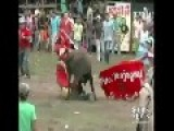 RAW VIDEO: Nineteen Injured In Colombia Bullfight Not A Repost!!