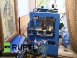 Russia: This Cat Really Hates Its 3D Printed HELMET