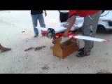 RC Airplane Petrol Engine Test