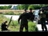 Russian Invaders Dancing Around Mortar, While Pounding Ukraine