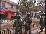 Rare Footage: Chinese Armed Police Search And Capture Muslim Terrorists 2009