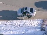 RAW VIDEO: Man Carjacks Two Vehicles During Rush Hour Chase In Denver